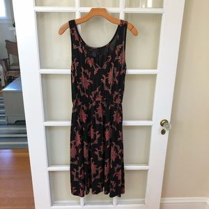 Marc By Marc Jacobs Printed Black Dress Size S